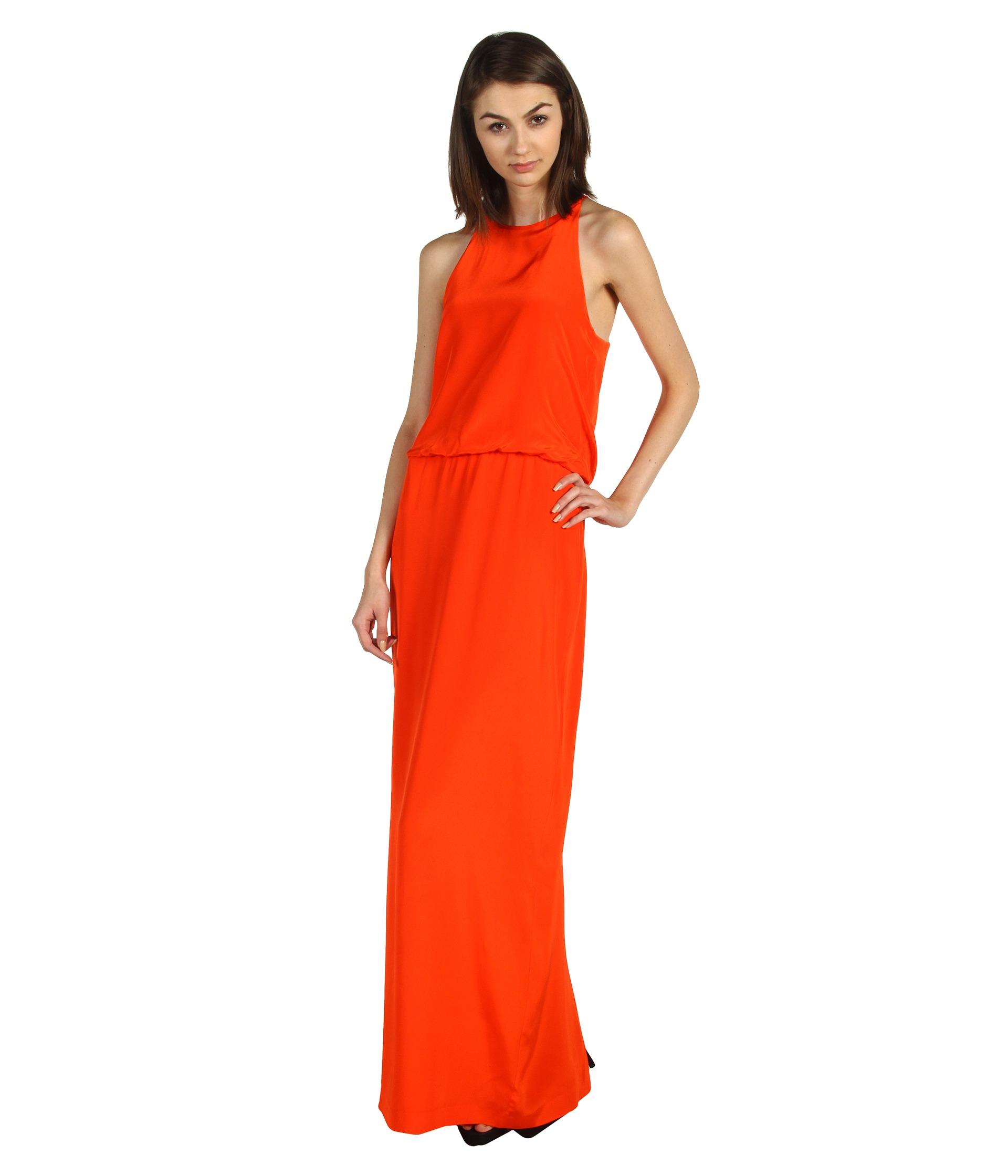 Tommy Bahama Tambour Knotted Long Dress $158.00 Tibi Long Halter Dress